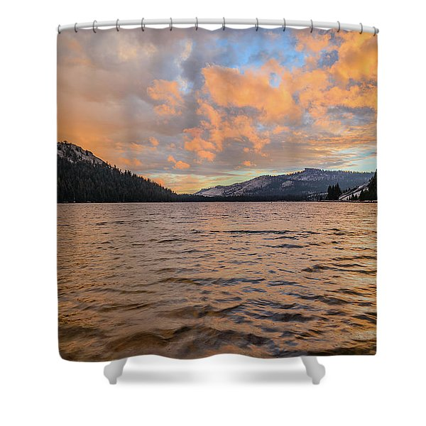 Tenaya Lake Shower Curtain
