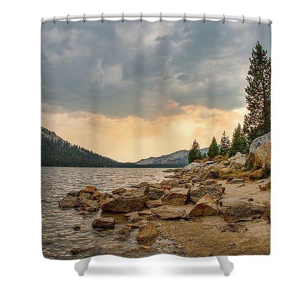 Tenaya Lake - Yosemite Shower Curtain