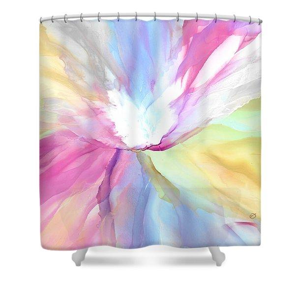 Tender Bloom Shower Curtain