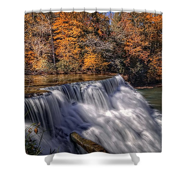Tennessee Waterfall Shower Curtain