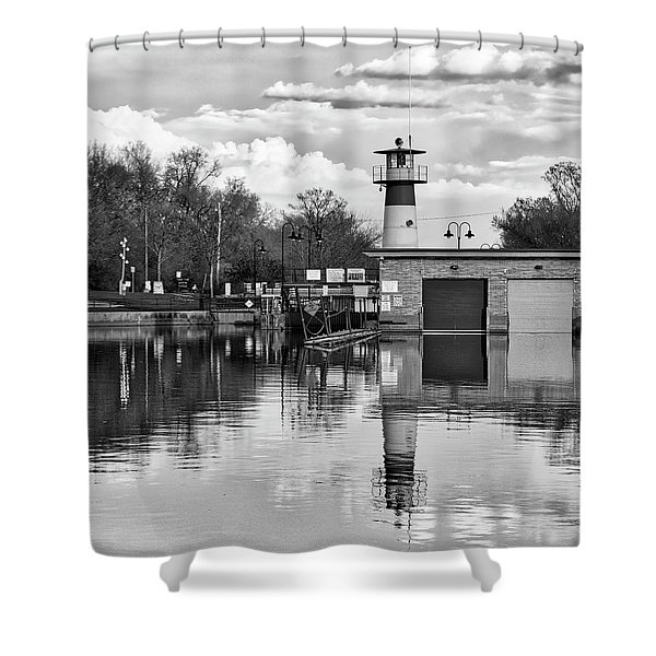 Tenney Lock 3 - Madison - Wisconsin Shower Curtain
