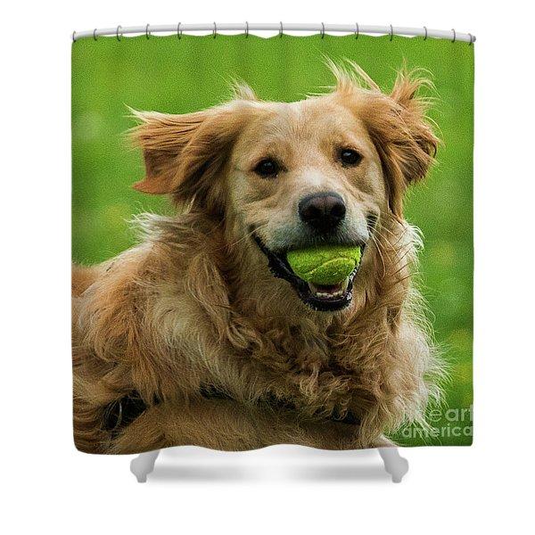 Tennis Is On ..wanna Play? Shower Curtain