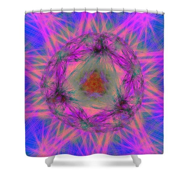 Tenographs Shower Curtain
