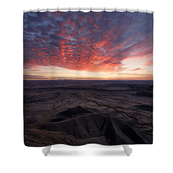 Terrain Shower Curtain