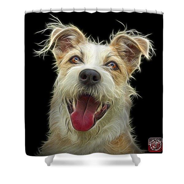 Terrier Mix 2989 - Bb Shower Curtain