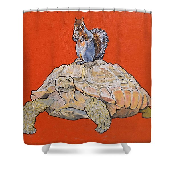 Terwilliger The Turtle Shower Curtain