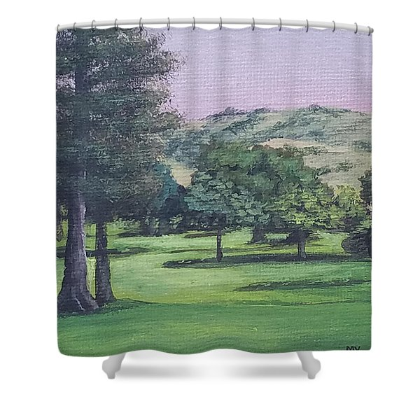 The Villages 1 Shower Curtain