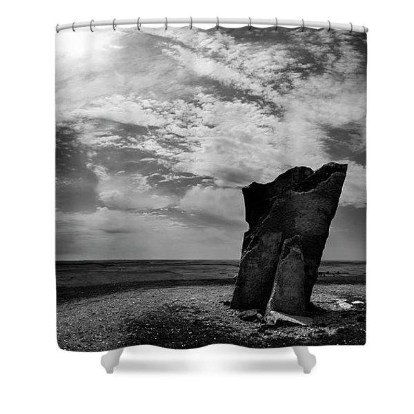 Teter Rock Hill Top View Shower Curtain