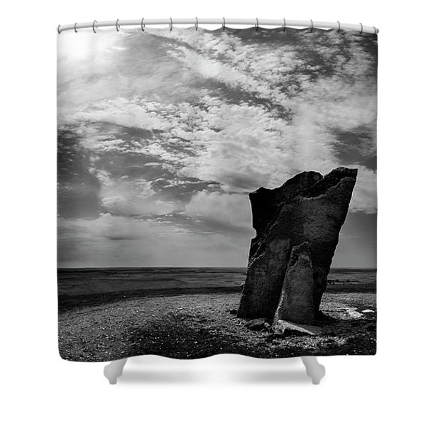 Teter Rock Hill Top View Shower Curtain