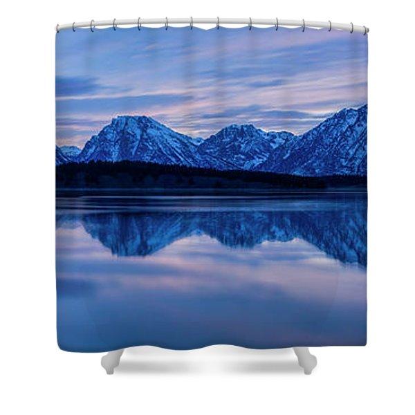 Teton Morning Shower Curtain