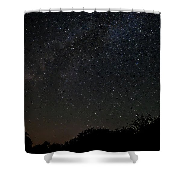 Texas At Night Shower Curtain