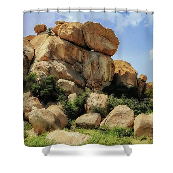 Texas Canyon Shower Curtain