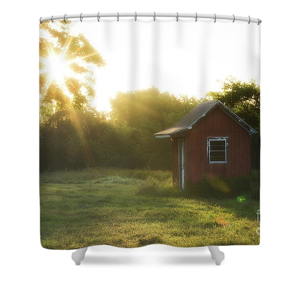 Texas Farm Shower Curtain
