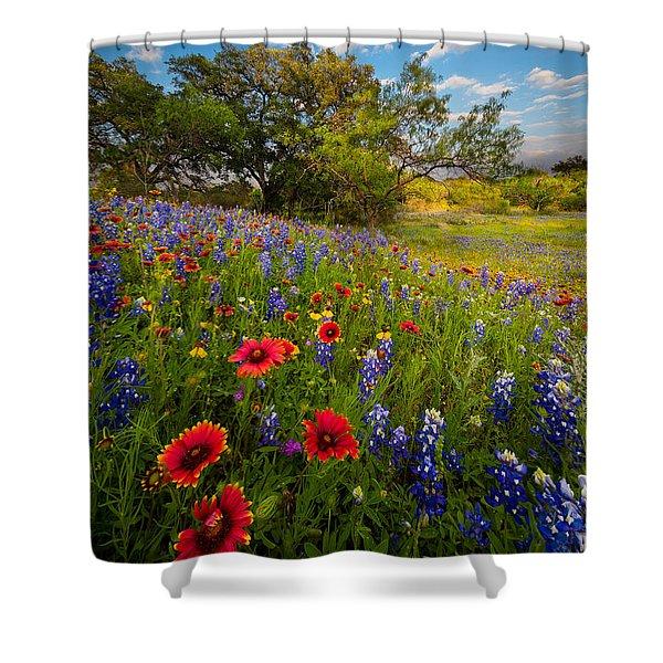 Texas Paradise Shower Curtain