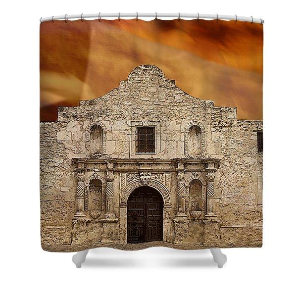 Texas Pride Shower Curtain