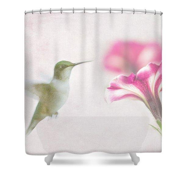 Textured Hummer Shower Curtain