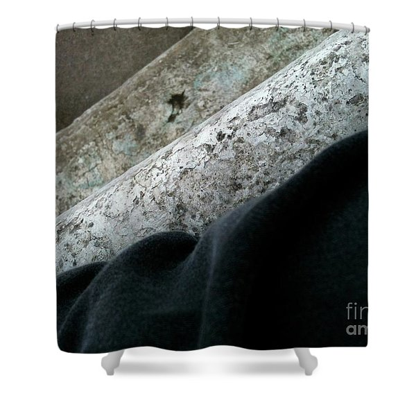 Textureflow Shower Curtain