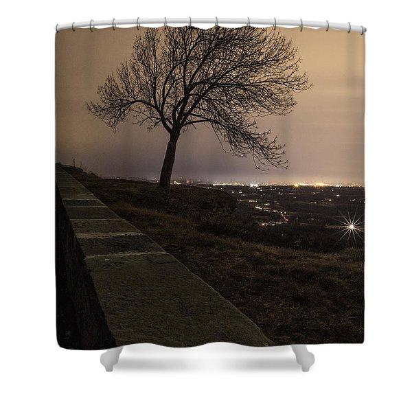 Thacher Park Twilight Shower Curtain