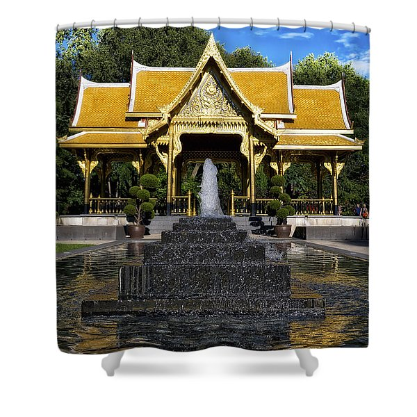 Thai Pavilion - Madison - Wisconsin Shower Curtain