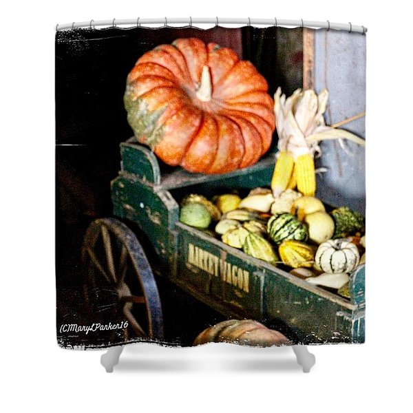 Thanksgiving  Harvest      Shower Curtain
