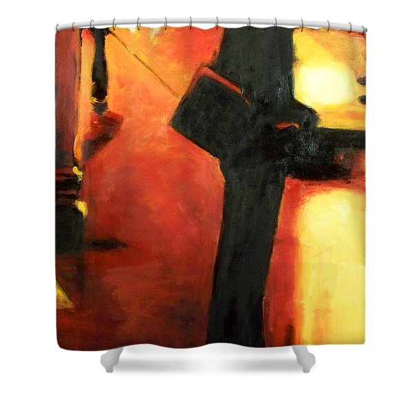 That First Step Shower Curtain