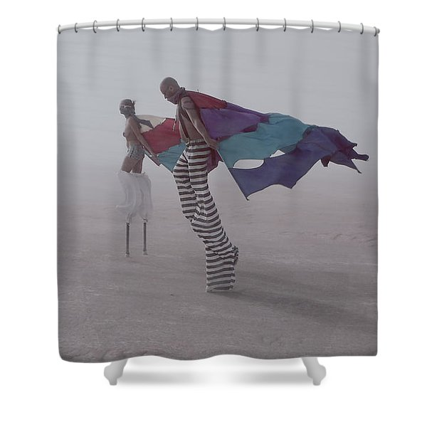 That Planet Shower Curtain