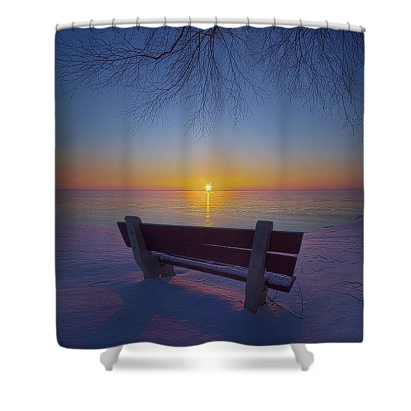 That Very First Moment Shower Curtain