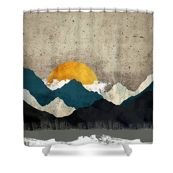 Thaw Shower Curtain