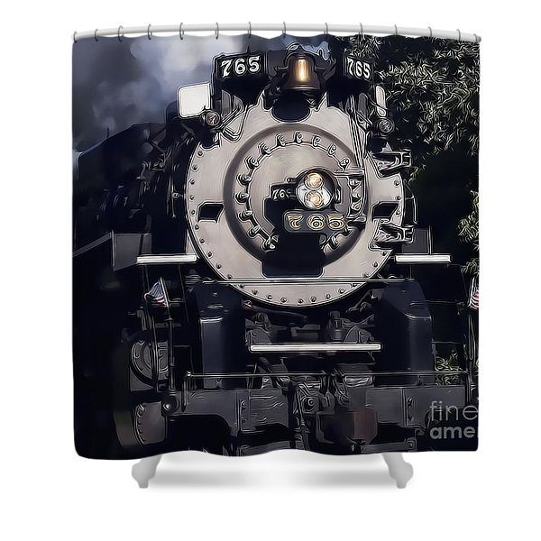 The 765 Shower Curtain