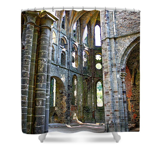 The Abbey Shower Curtain