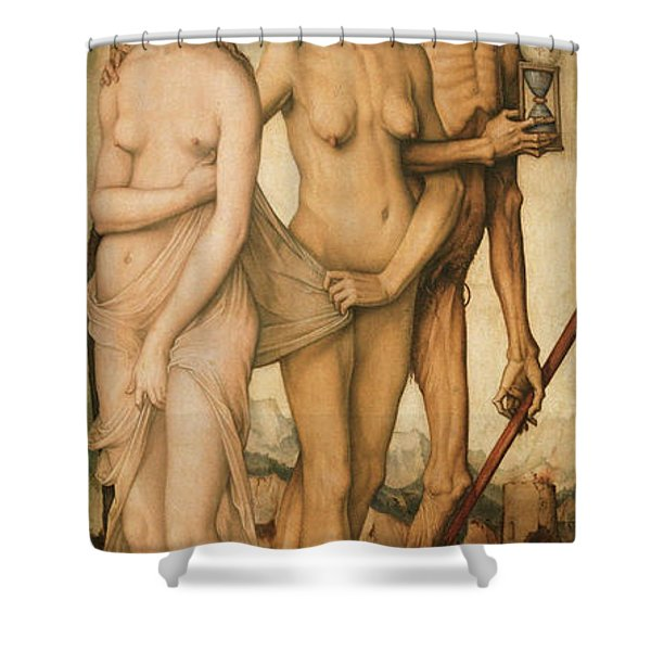 The Ages And Death Shower Curtain