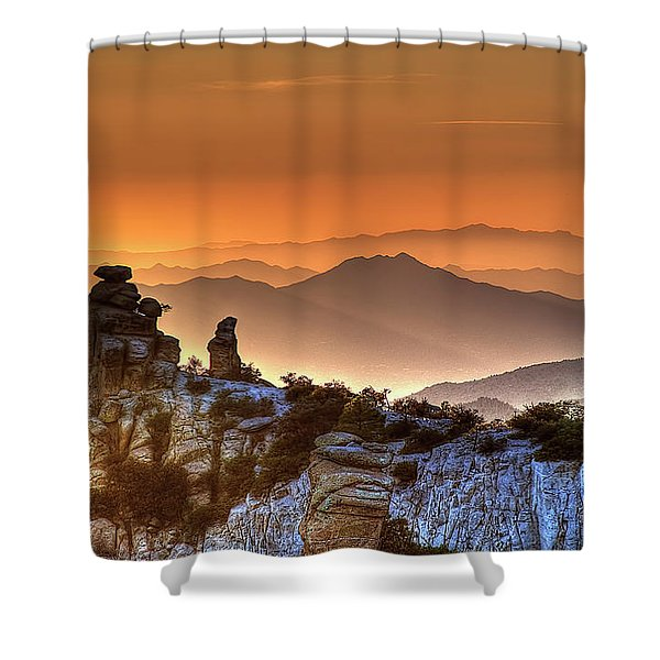 The Ahh Moment Shower Curtain