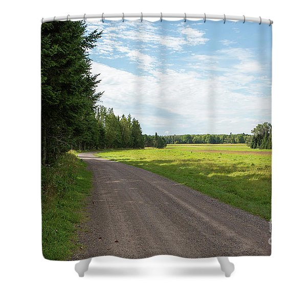 The Airport 3 Shower Curtain