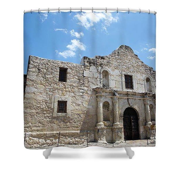 The Alamo Texas Shower Curtain