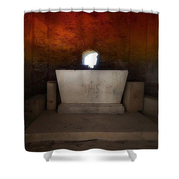 The Altar - L'altare Shower Curtain