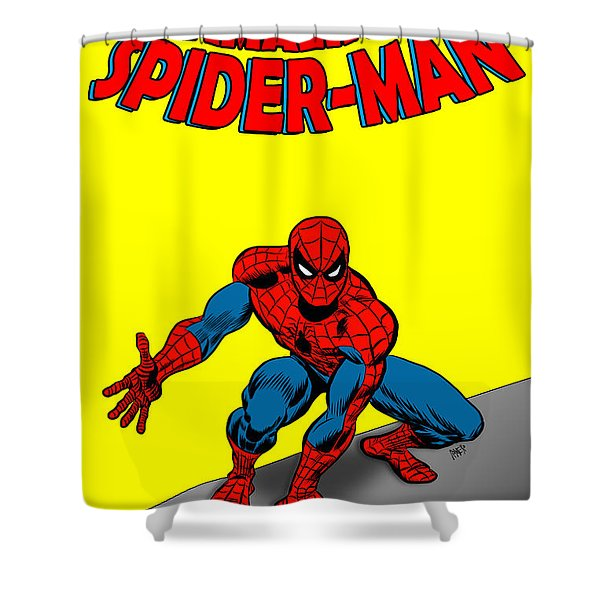 The Amazing Spider-man Shower Curtain