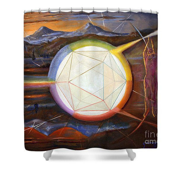 The Anatomy Of A Soul Shower Curtain
