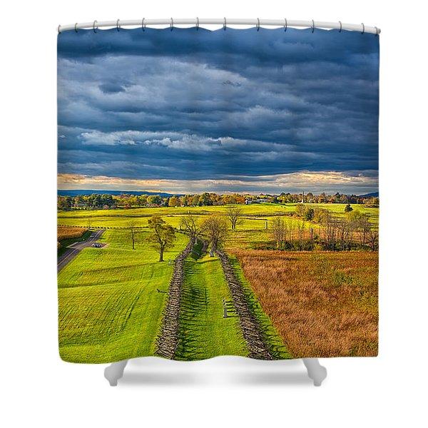 The Antietam Battlefield Shower Curtain