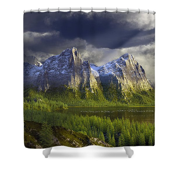 The Anvils Of Thor Shower Curtain