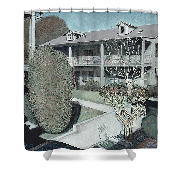 The Apartments Shower Curtain