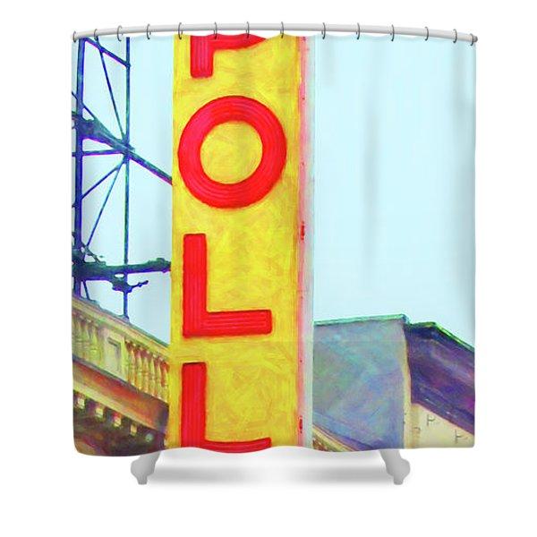 The Apollo Theater In Harlem Neighborhood Of Manhattan New York City 20180501v2 Shower Curtain