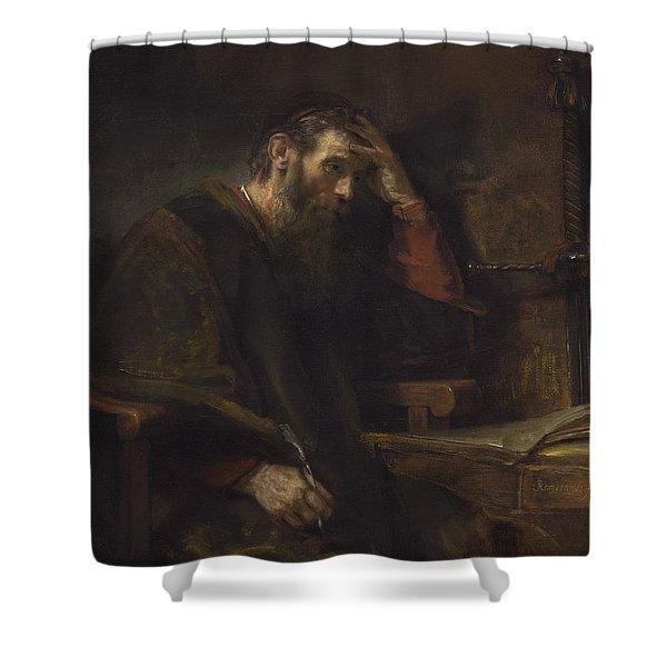 The Apostle Paul Shower Curtain