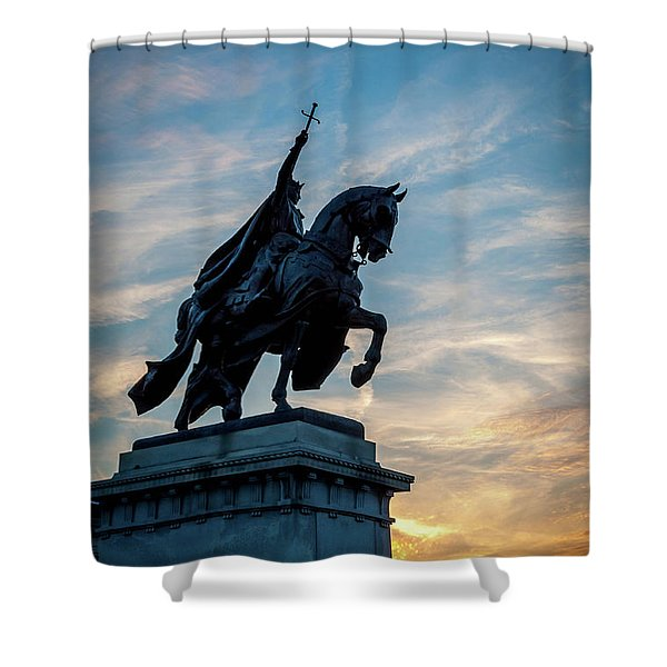 The Apotheosis Of St. Louis Shower Curtain