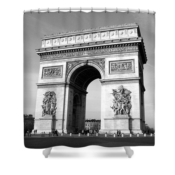 The Arc Di Triomph Shower Curtain
