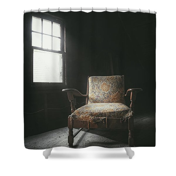 The Armchair In The Attic Shower Curtain
