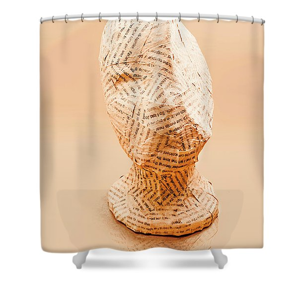 The Art Of Hidden Meanings Shower Curtain