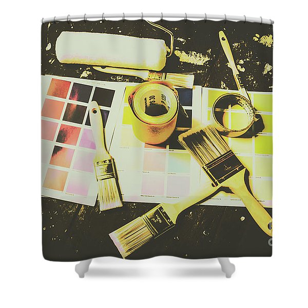 The Art Of Restoration Shower Curtain