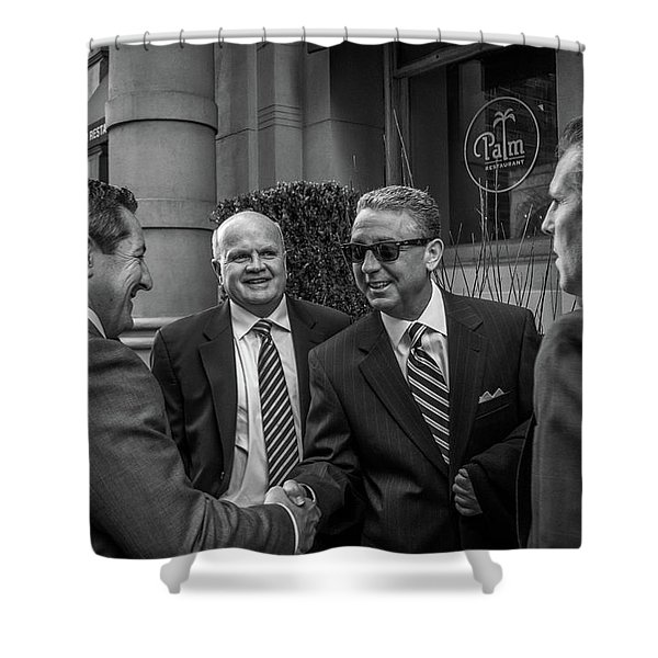 The Art Of The Deal Shower Curtain