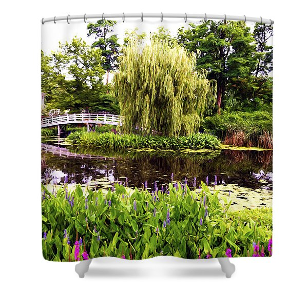 The Artists Garden Shower Curtain