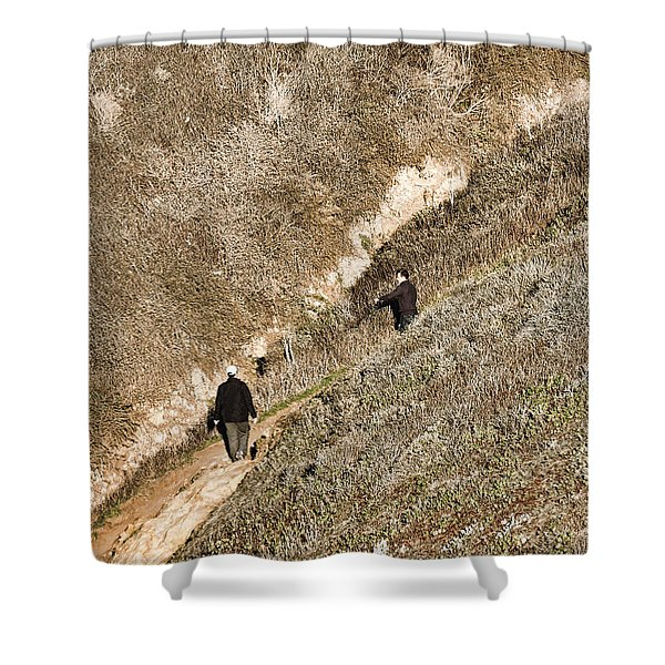 The Ascent Shower Curtain
